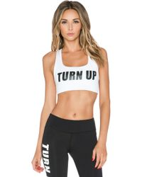 Private Party - Turn Up Sports Bra - Lyst
