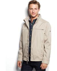 Calvin Klein 3 Seasons Weather-Resistant Coat brown - Lyst