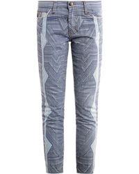 Current/Elliott X Albatross Skinny Jeans - Lyst