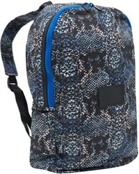 Marc By Marc Jacobs - Blue Snake Print Packable Backpack - Lyst