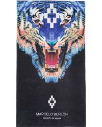 Marcelo Burlon Multicolor Tiger Towel - Lyst