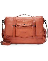 Ben Minkoff - Nikki Leather Messenger Bag - Lyst