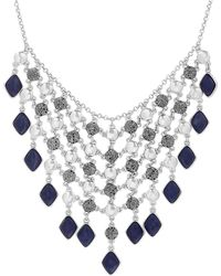 Lucky Brand - Semi-precious Stone Statement Necklace - Lyst