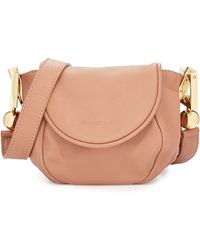See By Chloé Lena Leather Crossbody Bag - Lyst