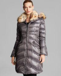 Dawn Levy Coat - Cloe Ii Down Fur Trim - Lyst