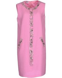 Moschino Cheap & Chic Short Dress pink - Lyst