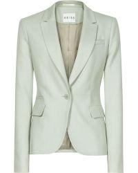 Reiss Raffa Textured Tailored Jacket - Lyst