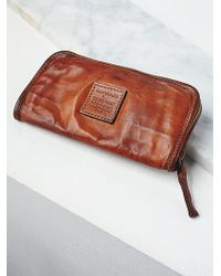 Free People Campomaggi Womens Findings Wallet - Brown