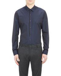 Lanvin Poplin Shirt - Lyst