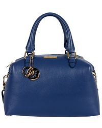 Versace Small Pebble Duffle - Lyst