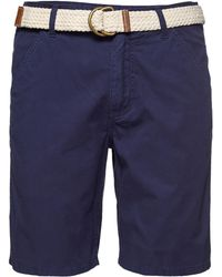 Life After Denim Maldives Solid Shorts blue - Lyst
