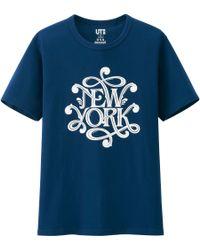 Uniqlo Men Usa Omiyage Graphic Short Sleeve T-Shirt - Lyst