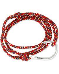 Miansai Hook Rope Bracelet - Lyst