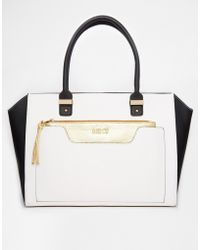 Lipsy - Front Pocket Clutch Tote - Lyst