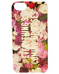 Kate Spade Everything Comes Up Roses Resin Phone Case For Iphone 5 and 5s - Lyst