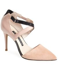 French Connection Women'S 'Elma' Pointy Toe Pump - Lyst