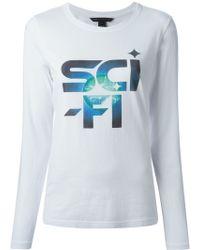 Marc By Marc Jacobs 'Sci-Fi' Print T-Shirt - Lyst