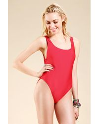 Urban Outfitters - Uo Pamela Onepiece Swimsuit - Lyst