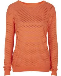 Topshop Knit Pullover By Selected Femme - Lyst