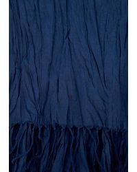 Ralph Lauren Blue Label Cotton Scarf - Lyst
