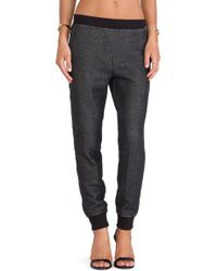 T By Alexander Wang Sweatpant - Lyst
