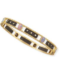 Armenta - Old World Opal & Diamond Bangle - Lyst