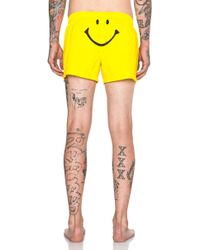 Moschino Men'S Smiley Swim Trunk - Lyst