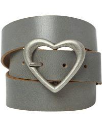 White Stuff - Heart Buckle Belt - Lyst