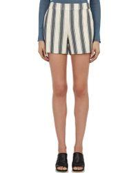 Tess Giberson | Textured High-waist Shorts | Lyst