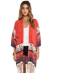 Spell & The Gypsy Collective - Desert Wanderer Kimono - Lyst