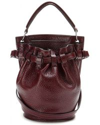 Alexander Wang - Inside Out Diego Leather Bucket Bag - Lyst