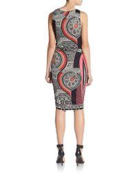 Etro Sleeveless Ruched-Waist Dress - Lyst
