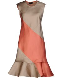 Ostwald Helgason Short Dress - Orange