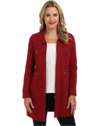 Nic+zoe Red Permafrost Jacket - Lyst