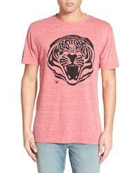 Ames Bros | . 'stripes' Graphic T-shirt | Lyst