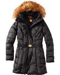 BOSS Orange - Down Jacket 'Odaila' With A Detachable Hood - Lyst