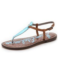 Sam Edelman Gigi Sandals - New Blue - Lyst