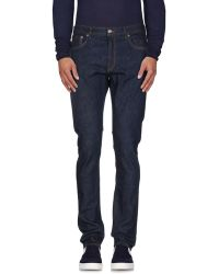 NN07 Denim Trousers - Blue