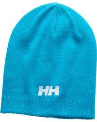 Helly Hansen - Ribbed Logo Beanie - Lyst
