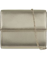 Max Mara Leather Clutch Bag - For Women - Lyst