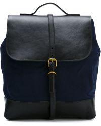 Steve Mono - Contrast Panel Backpack - Lyst
