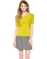 Carven Jersey Top - Lyst