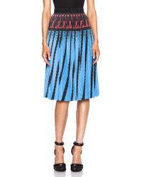 Alexander Wang Accordion Pleated A-Line Skirt - Lyst