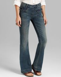 Free People Jeans Tailored Flare in Estrella Wash - Lyst