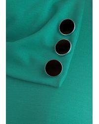 Monteau Inc Coach Tour Dress in Spearmint - Green
