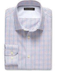 Banana Republic Tailored Slim-Fit Non-Iron Multi Tattersall Shirt - Lyst
