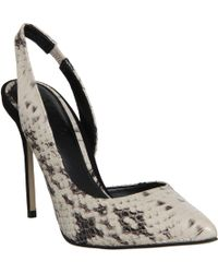 Office Premiere Slingback Dorsay Point - Lyst