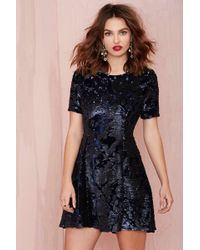 Nasty Gal Joa After Midnight Sequin Dress - Lyst