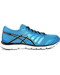 Asics | Gel Zaraca 4 Blue/black Trainers | Lyst
