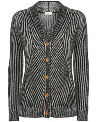 Paul by Paul Smith - Ribbed Mohairblend Cardigan - Lyst
